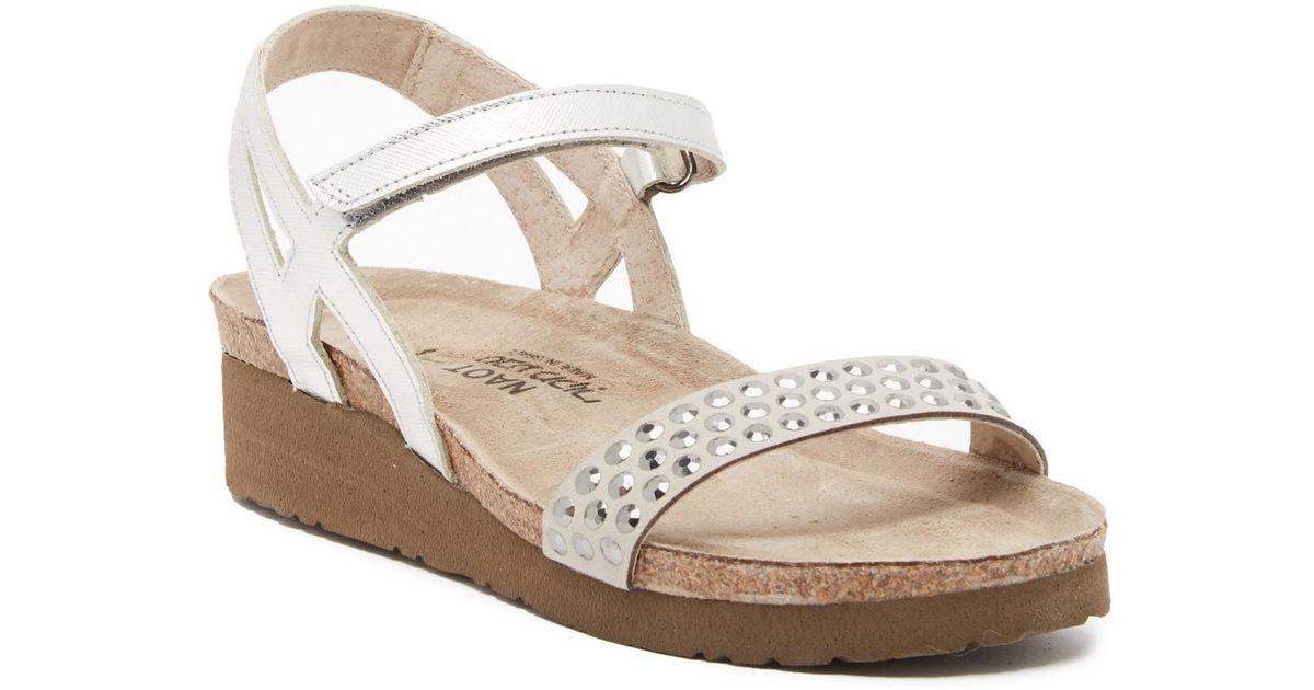 NAOT Lexi Studded Wedge Sandal SKrpUC