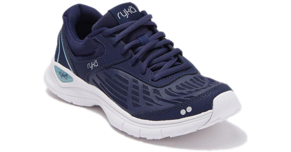 Ryka Leather Rae 2 Walking Sneaker in
