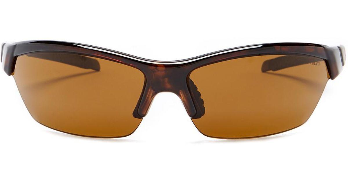 e134afbce7 Lyst - Smith Optics Men s Frontman Polarized Sunglasses in Brown for Men