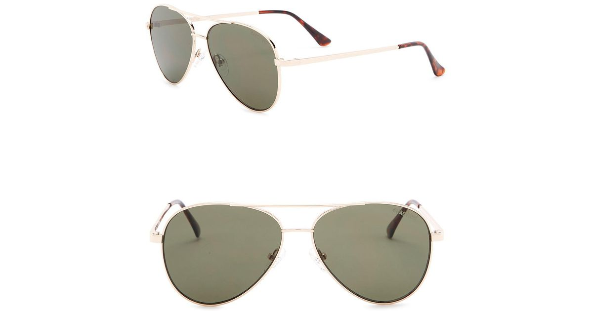 5eaa1f16df521 Lyst - Kenneth Cole Reaction 57mm Aviator Sunglasses for Men