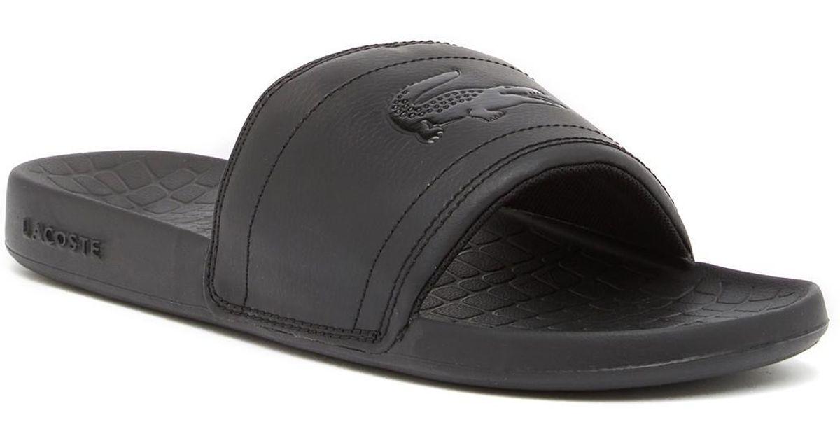 Lacoste Fraisier 118 Slide Sandal in
