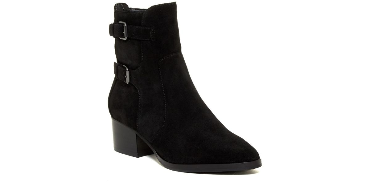 d8395963898 Lyst - Via Spiga Oaklyn Boot in Black