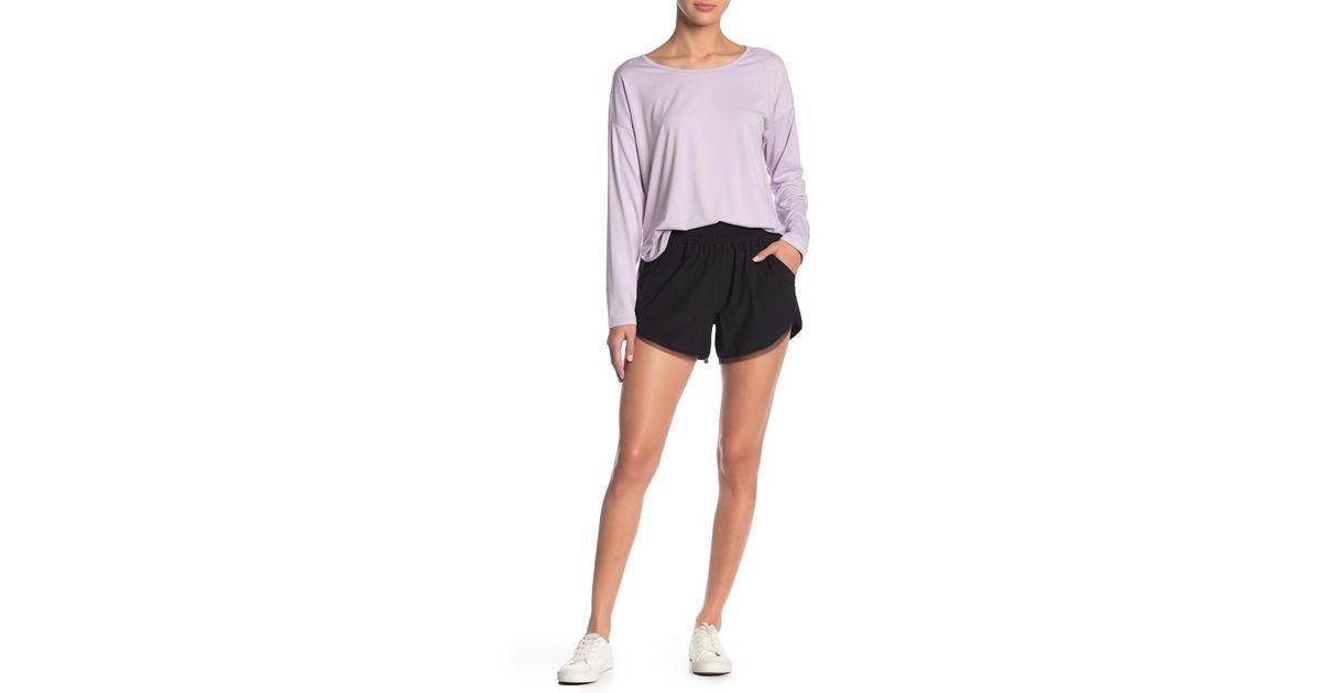 Edelman Sam Black Trimmed Shorts Mesh IYW2EDH9