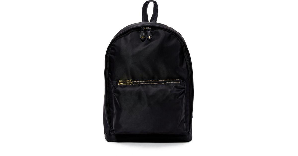 Lyst - Madden girl Nylon Double Zip Backpack in Black