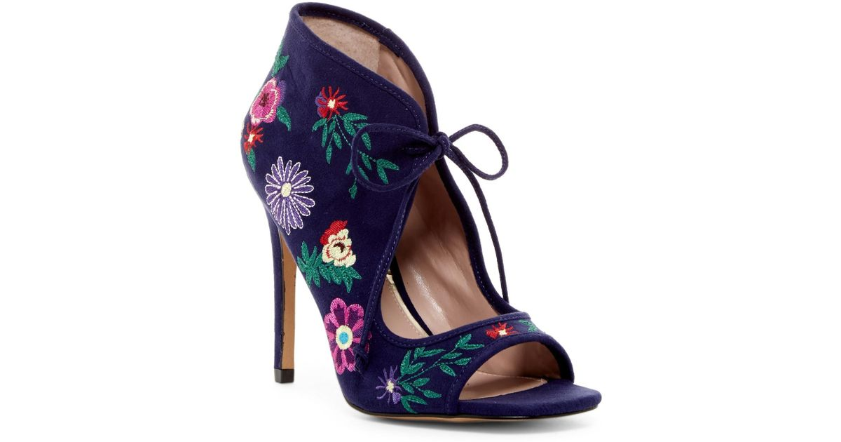 Lyst Betsey Johnson Caira Dress Shoe In Blue