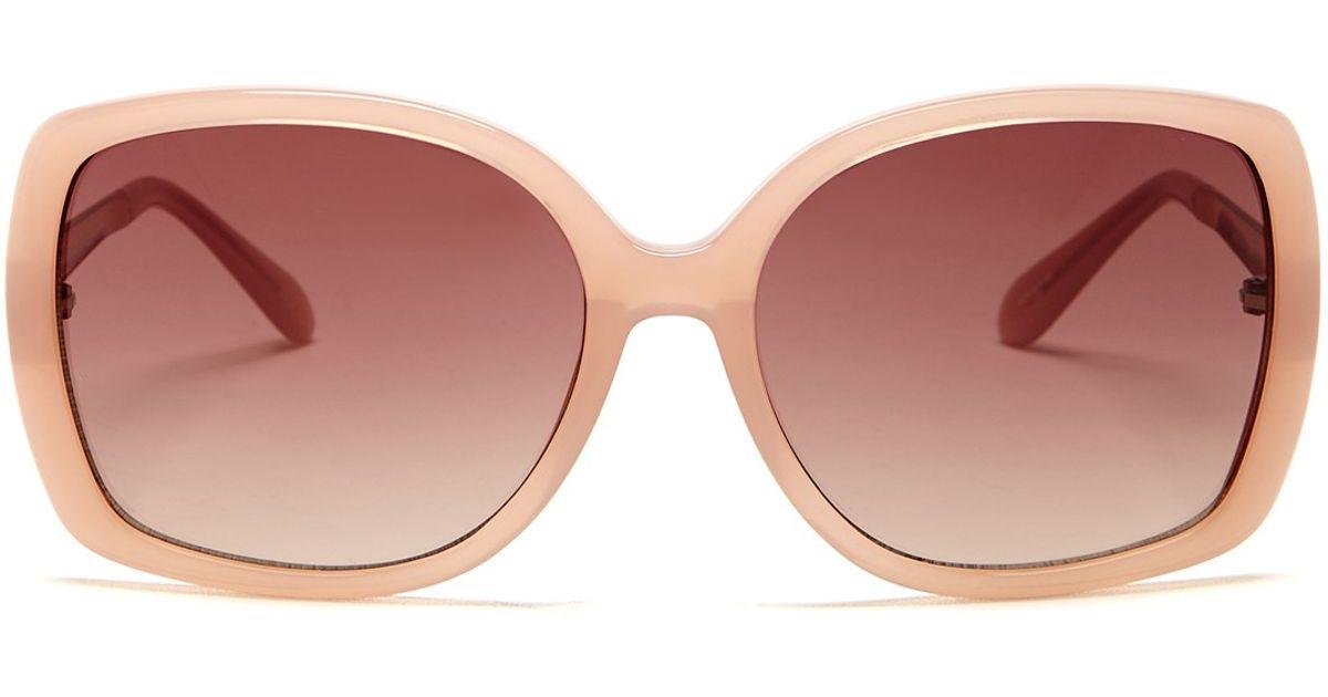 812755d98db7 Kate Spade Women's Margita Sunglasses - Lyst