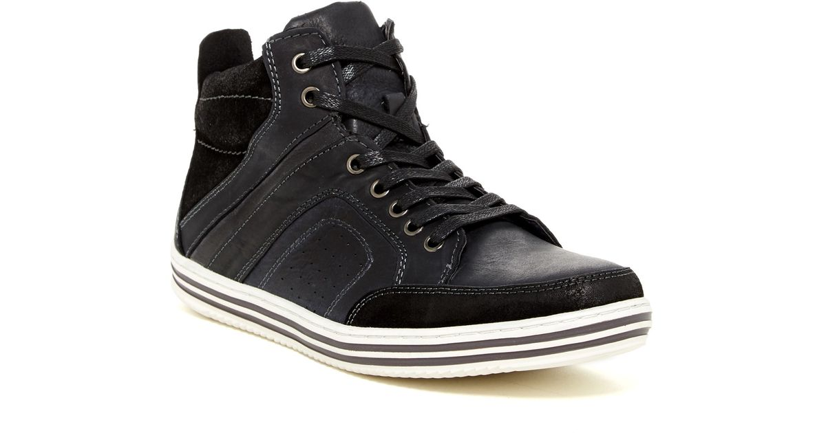 1669b3c5839 Lyst - Steve Madden Ristt High Top Sneaker in Black for Men