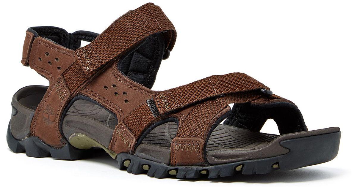 7f33784cdd14 Lyst - Timberland Eldridge Sandal in Brown for Men