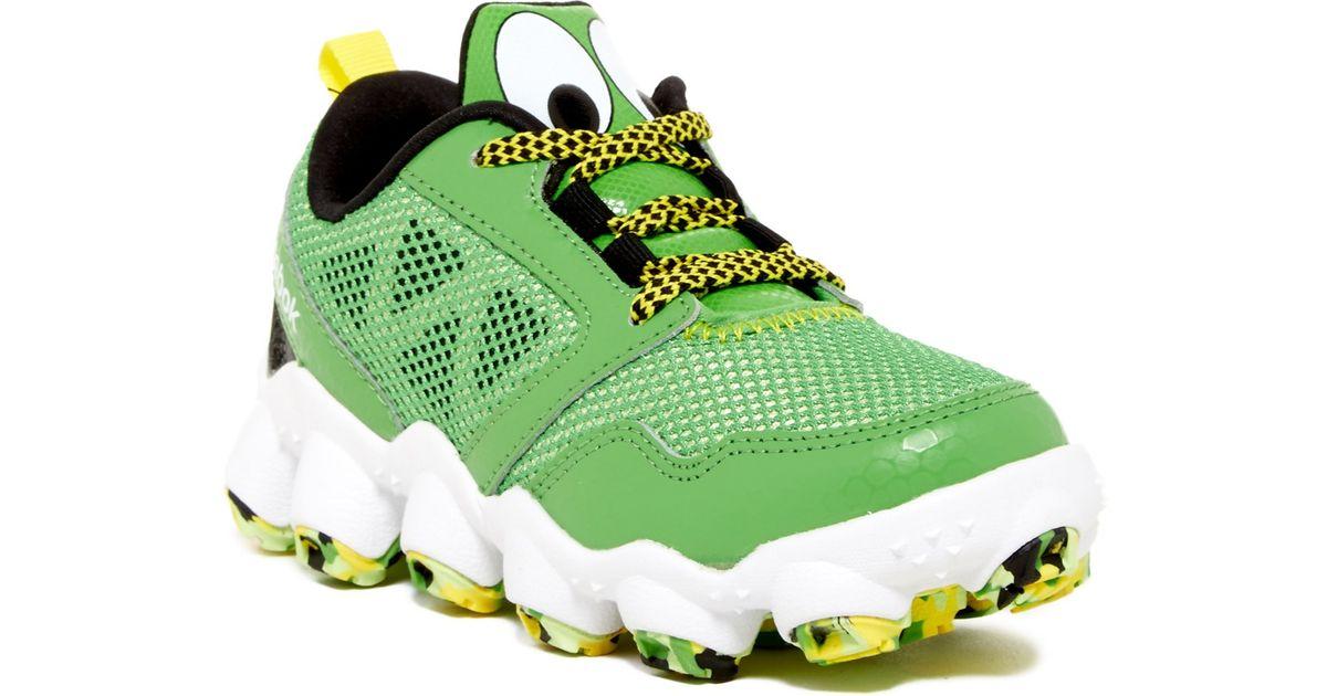 Lyst - Reebok The Good Dinosaur Atv19 3.0 Running Shoe (little Kid) in Green 45c4871ba