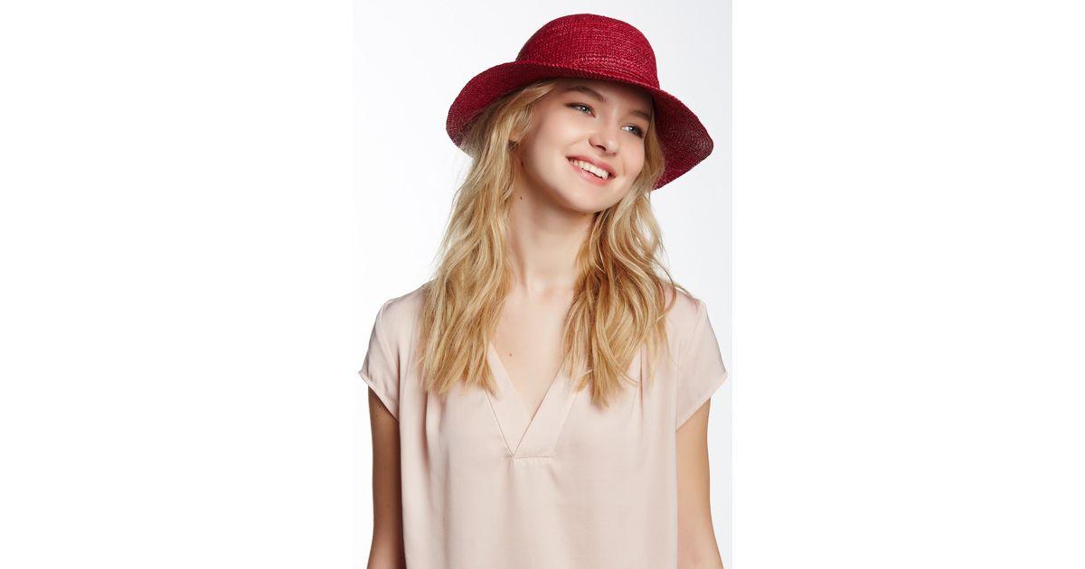 Helen Kaminski Caicos Hat - Lyst 2faf8a8ba3da