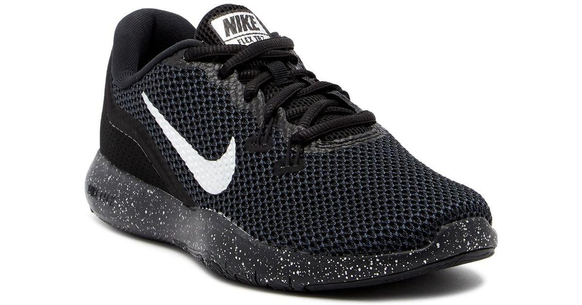 on sale 0206e 25549 Lyst - Nike Flex Trainer 7 Prm Running Shoe in Black