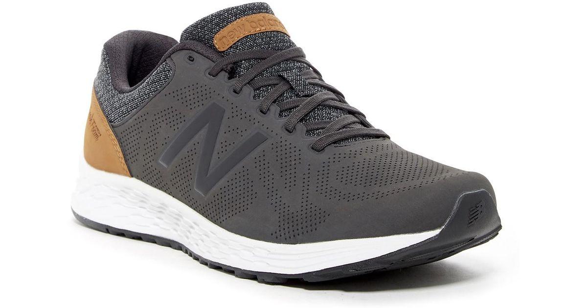 New Balance Black Fresh Foam Arishi V1 Luxe Running Sneaker Extra Wide Width Available for men