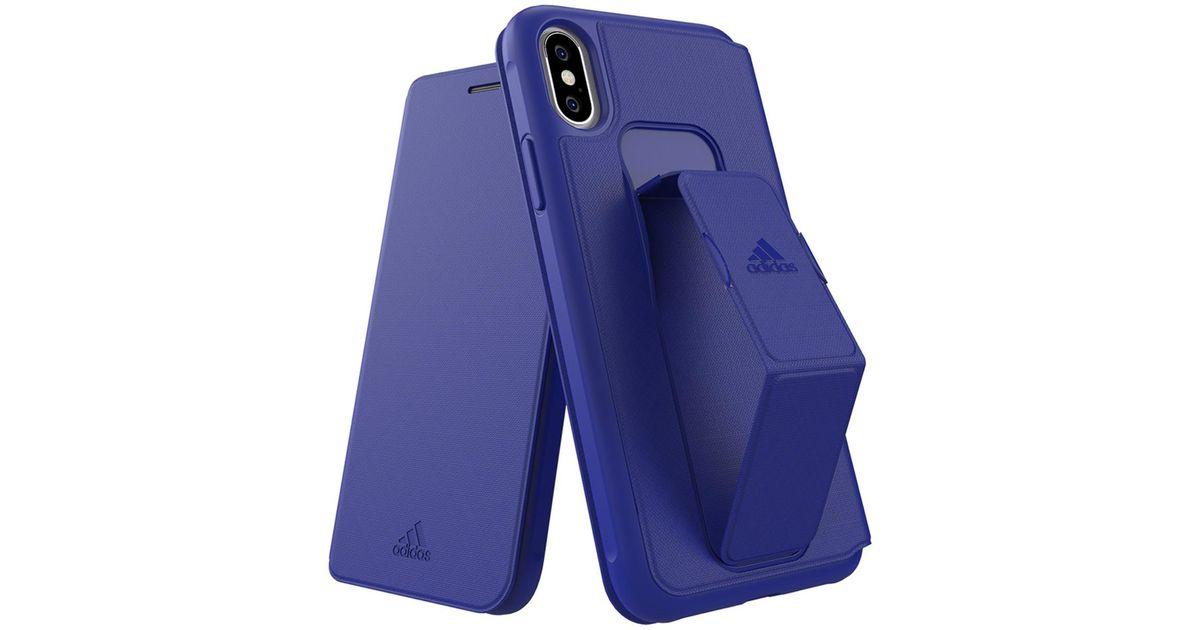 COVER PER APPLE iPHONE XR 6.1'' ADIDAS ADICOLOR FUCSIA CON LOGO