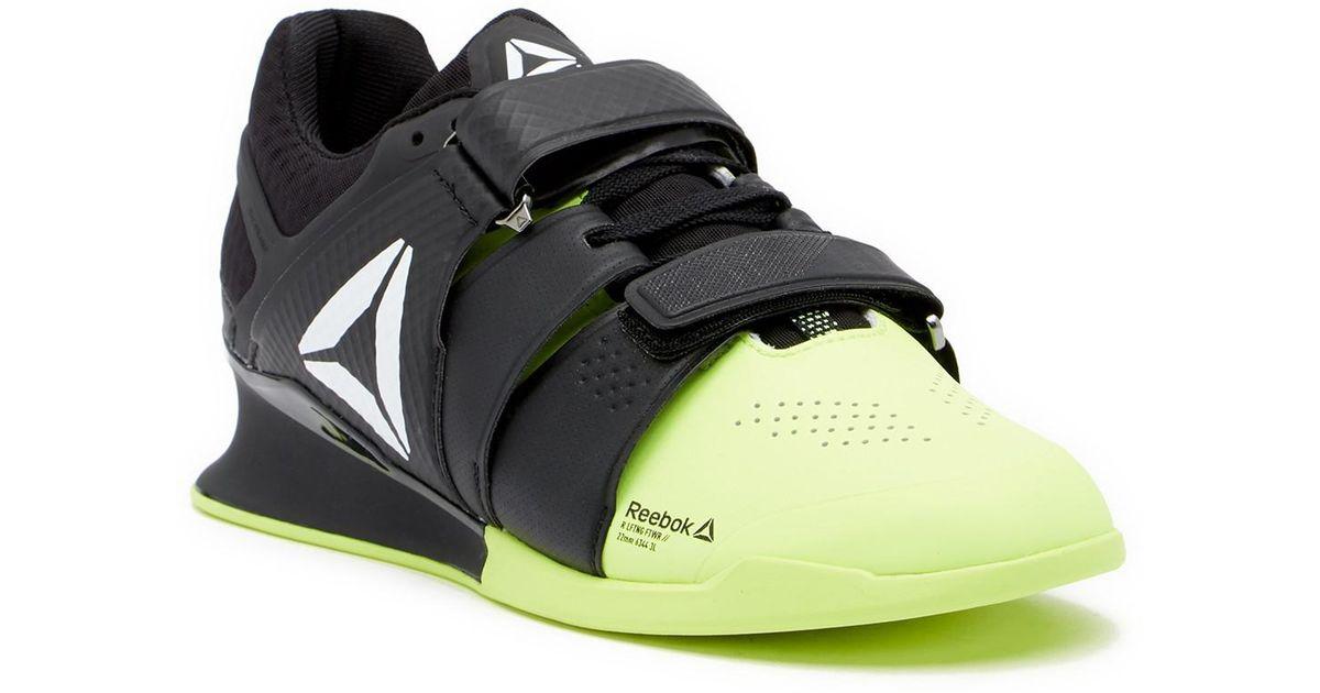 8086ff56 Reebok Black Legacy Lifter Weightlifting Shoe for men
