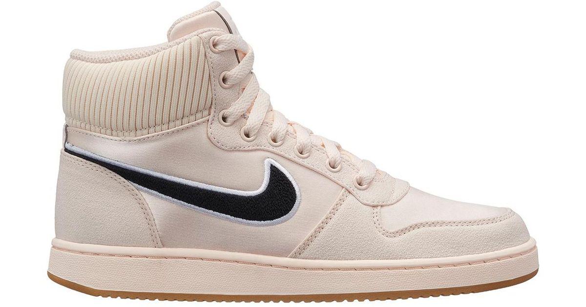 Nike Rubber Ebernon High Top Sneaker - Lyst