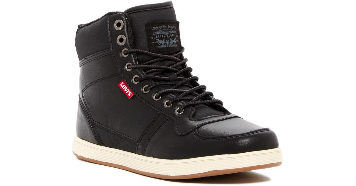 Levi's Stanton Burnish High Top Sneaker