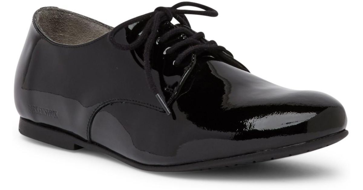 51e56ede1d6d Lyst - Birkenstock Saunders Lace-up Shoe - Discontinued in Black