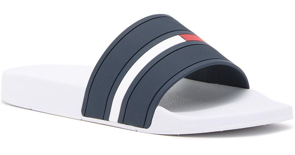 2ca50dc8e Lyst - Tommy Hilfiger Ennis Slide Sandal in Blue for Men