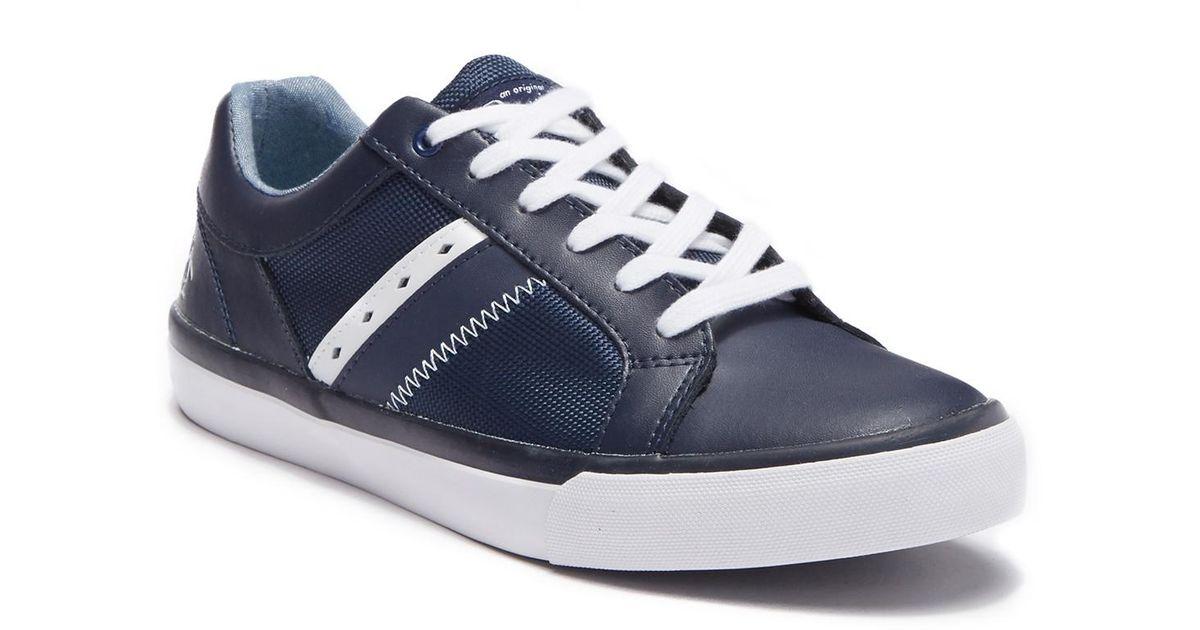 Original Penguin Leather Bruce Sneaker