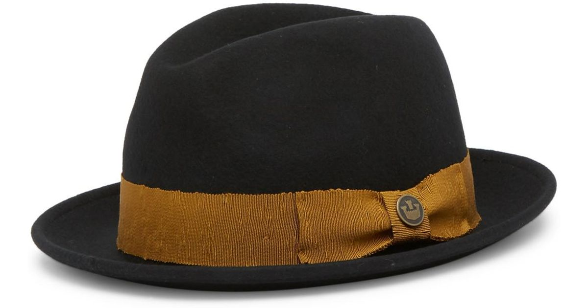 d20be4231 Goorin Bros - Black Mr. Driver Wool Fedora for Men - Lyst