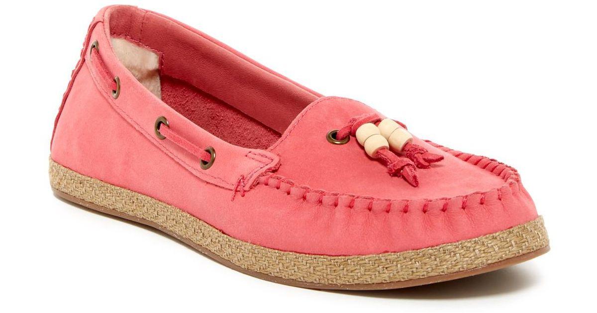 e9d223f5ad4 Ugg Pink Suzette Moccasin