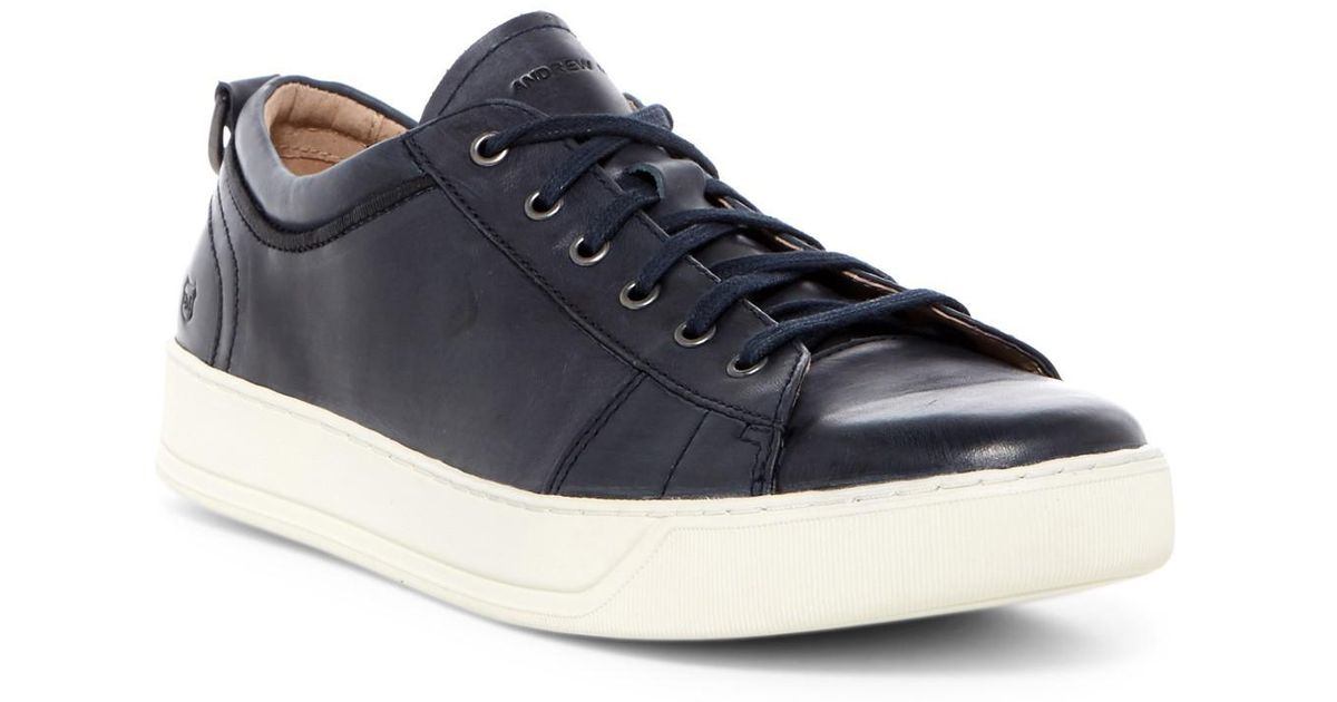 Andrew Marc Leather Darwood Sneaker in