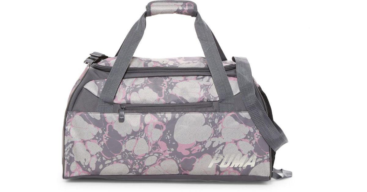 2364e1af76 PUMA Gray Evercat Align Duffel Bag
