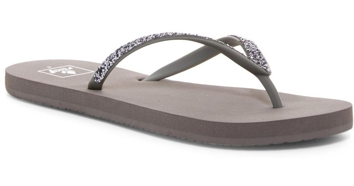 879ac76d32220 Reef Mist Ii Flip Flop (women) in Gray - Lyst