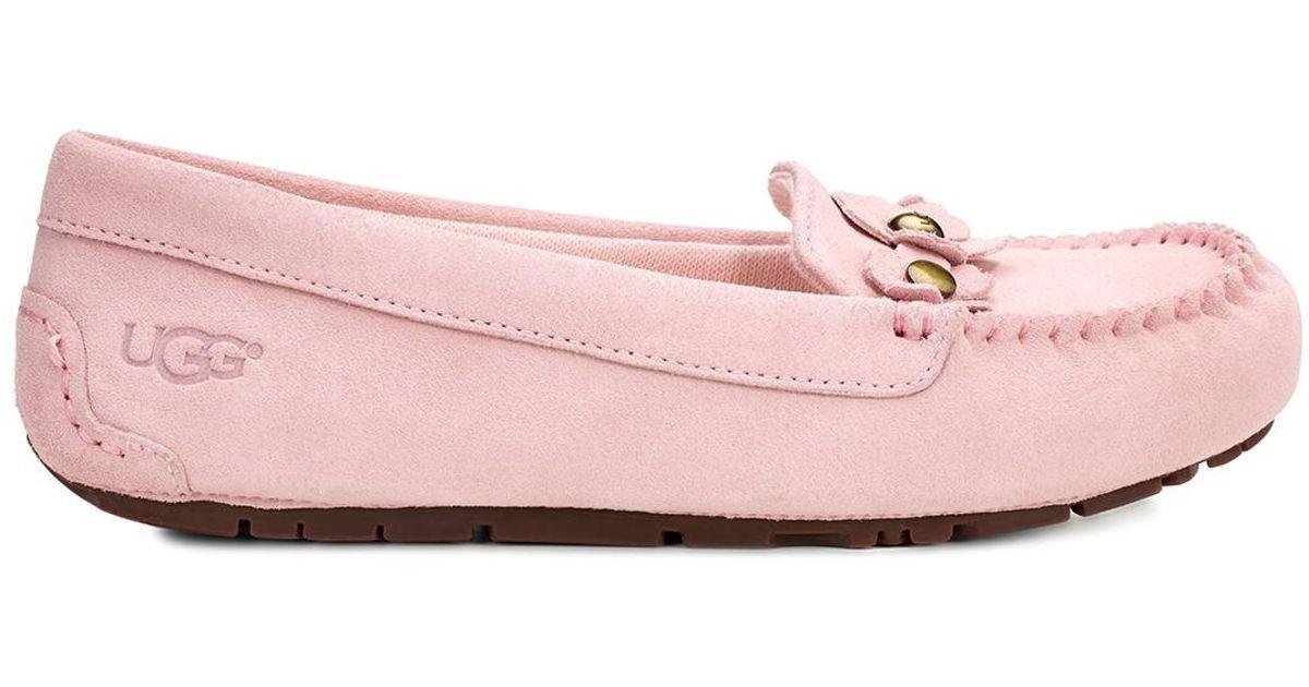 74035202c4e Ugg Pink Lizzy Poppy Slip-on Moccasin