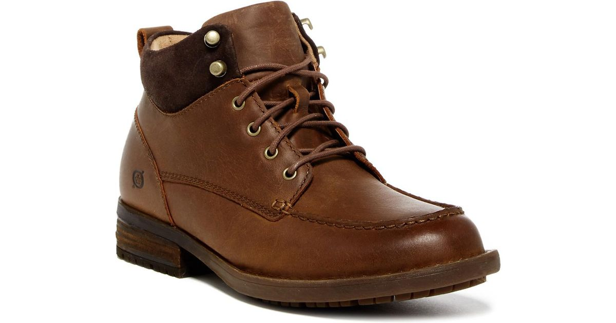 7aeaa24ac23 Born Brown Hunter Moc Lace-up Boot for men
