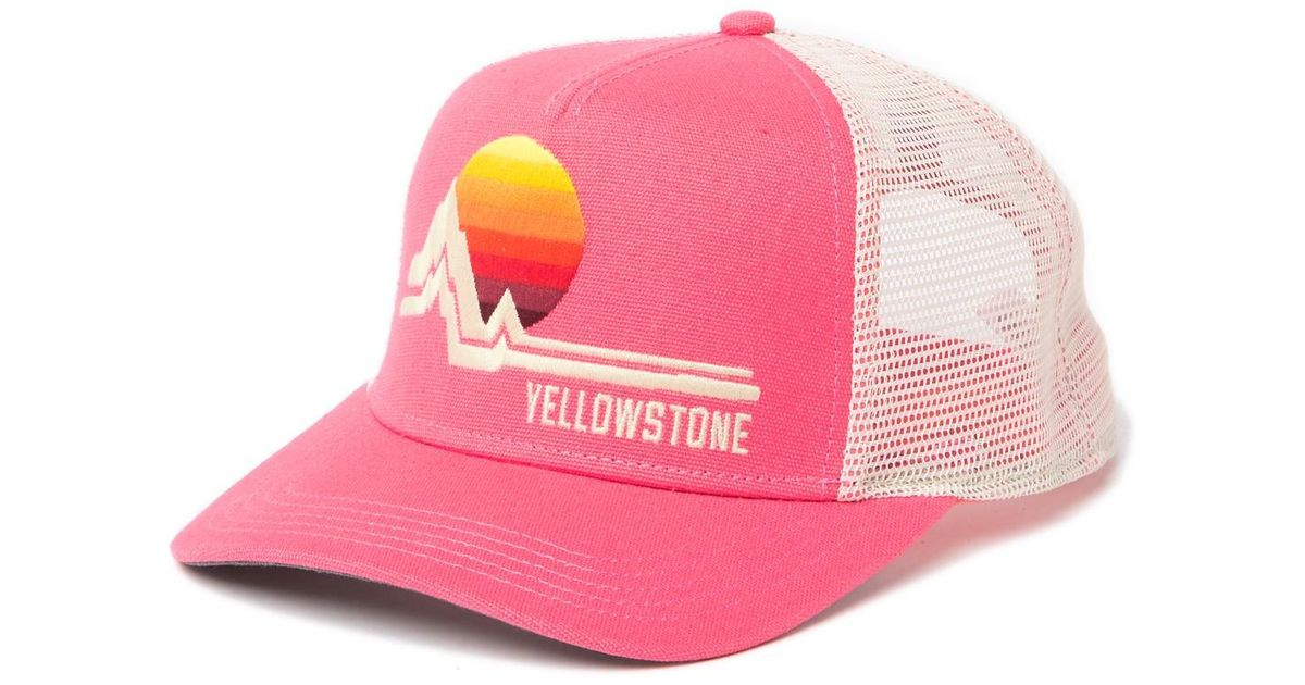2ad3de24f American Needle Yellowstone National Park Valin Hat in Pink for Men - Lyst