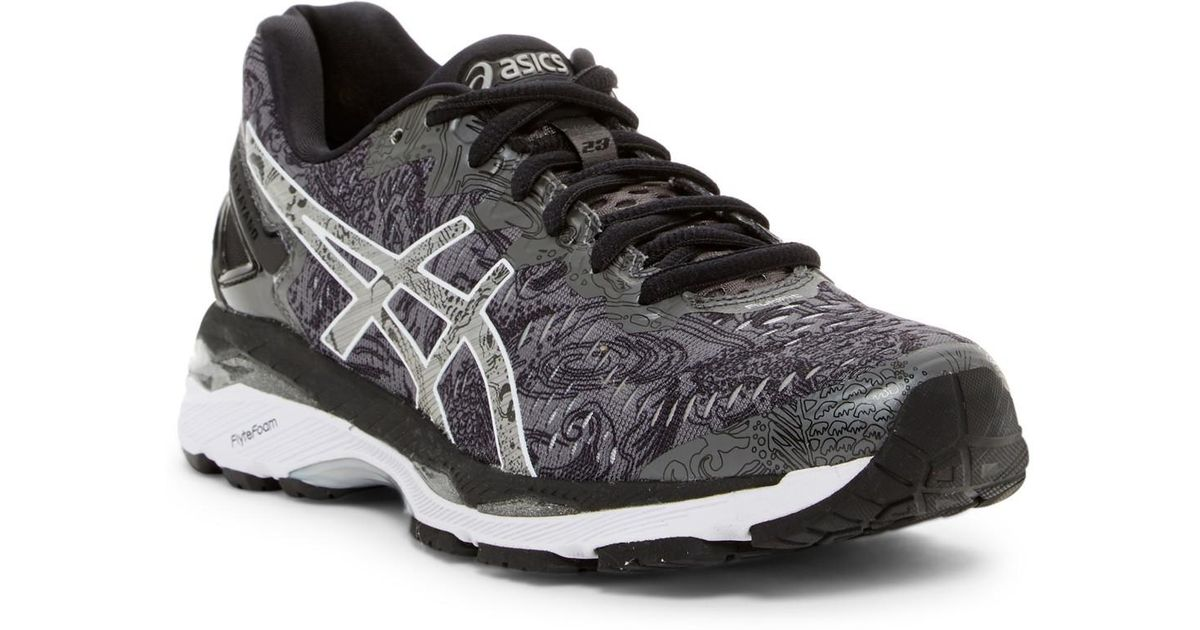 super popular ea24e c3cc9 Asics Black Gel-kayano 23 Lite-show Running Shoe (women)