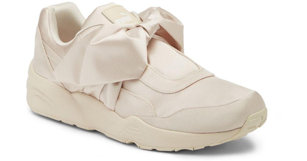 save off 947e2 8c2e8 PUMA Pink Puma By Rihanna Top Bow Sneaker (unisex)