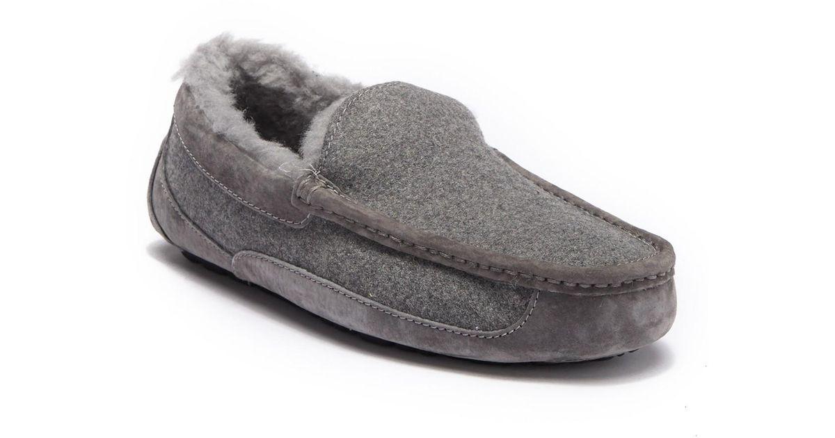 324d0696255 Ugg Gray Ascot Uggpure(tm) Slipper for men