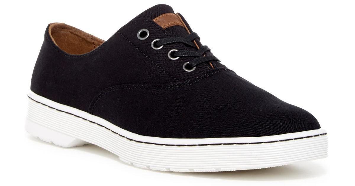 b56c600b782 Dr. Martens Black Lakewood Oxford Sneaker for men