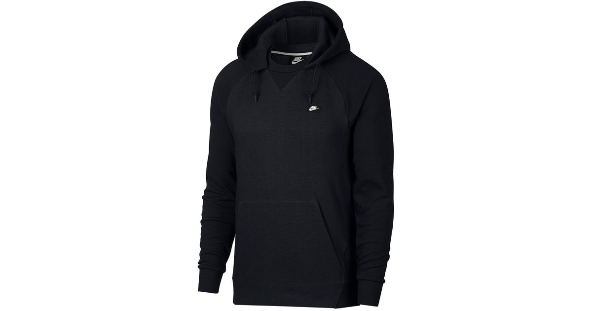 dd72a9bc Nike Optic Pullover Hoodie in Black for Men - Lyst