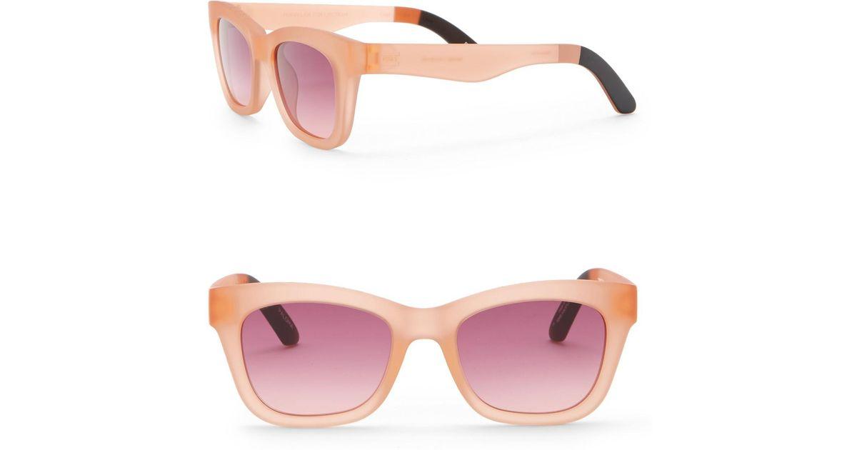Paloma Toms 51mm Sunglasses Pink Traveler Lyst uTwPkZOXi