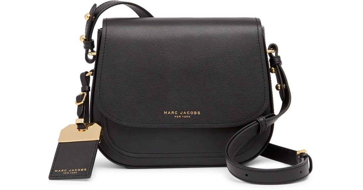 5313544f Marc Jacobs Black Mini Rider Leather Crossbody Bag