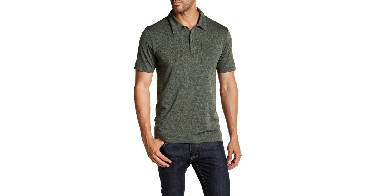 461154a99 The North Face Green Short Sleeve Renegade Polo for men