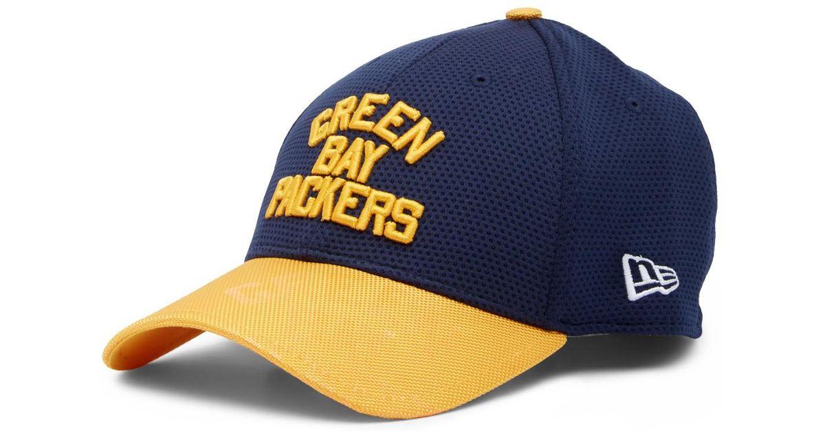 731479e8a Lyst - KTZ Nfl 16 3930 Greenbay Packers Cap in Blue for Men