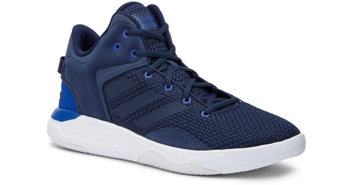 Lyst - adidas Cloudfoam Revival Mid Sneaker in Blue for Men d312e5001