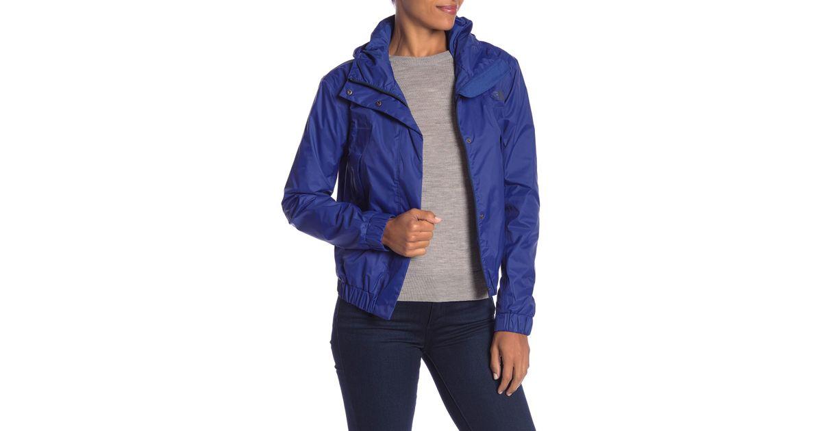 4b041913c The North Face Blue Precita Rain Jacket