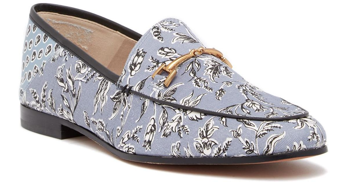 a2dea4a2bb1 Lyst - Sam Edelman Loraine Bit Loafer in Blue
