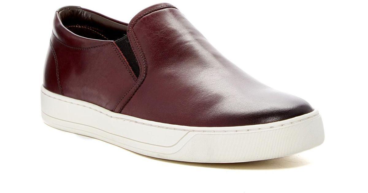 Bruno Magli Leather Wimpy Slip-on
