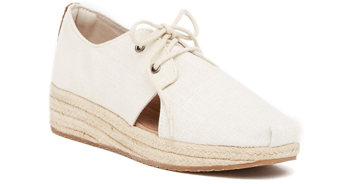 33079da2385 Joy & Mario Natural Sperlonga Espadrille Wedge Flat