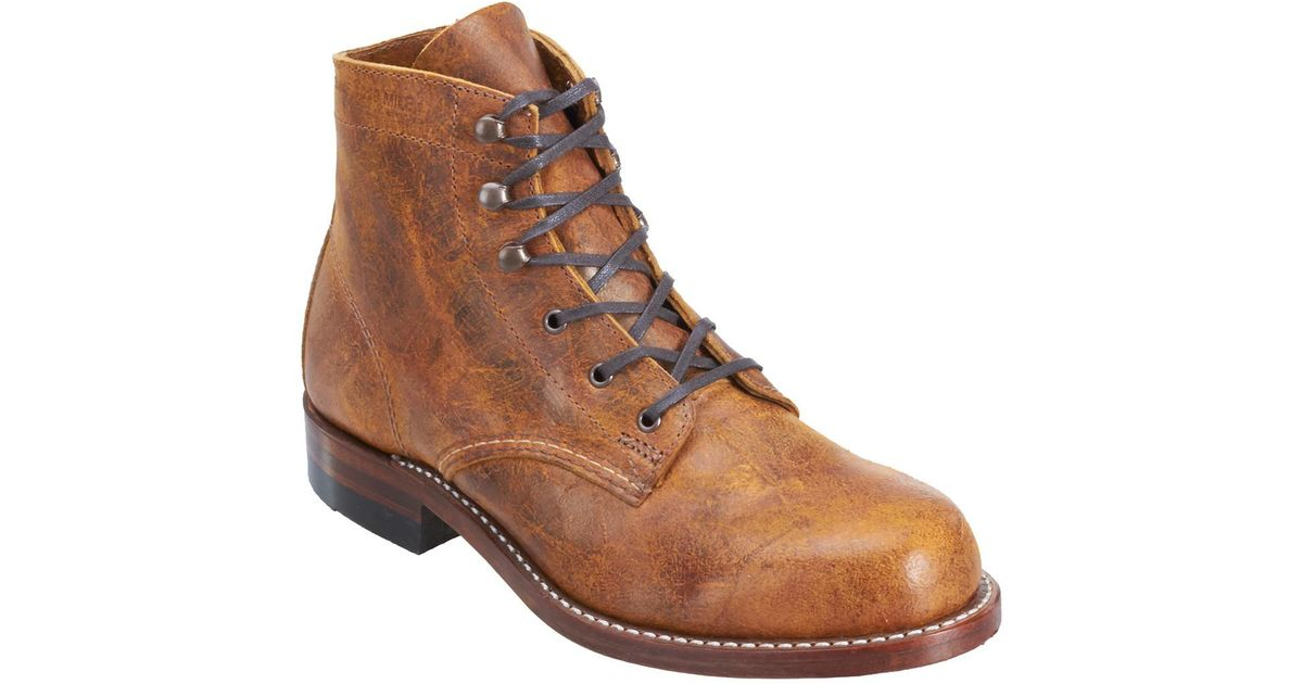 97b3037b7177 Lyst - Wolverine 1000 Mile Original Lace-up Boot in Metallic