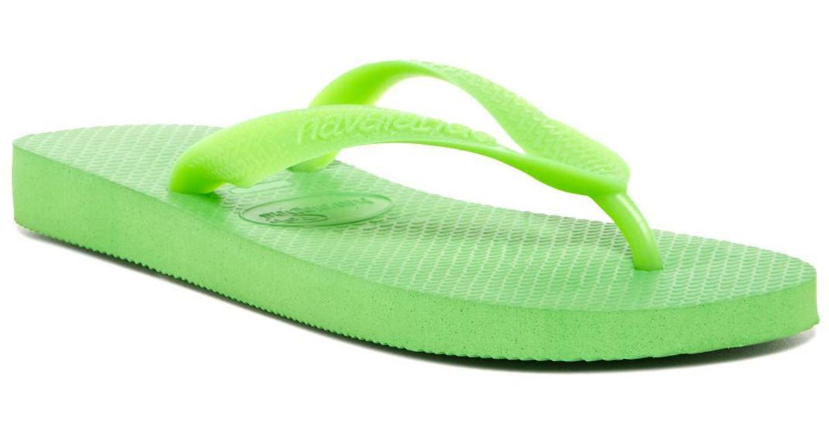 2119f30a7 Lyst - Havaianas Top Flip Flop (men) in Green for Men