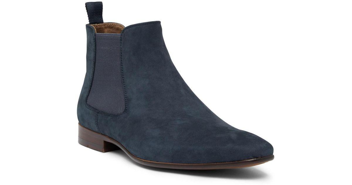 For Boot Blue Men Chelsea Aldo Suede Avent wy80mnvNO