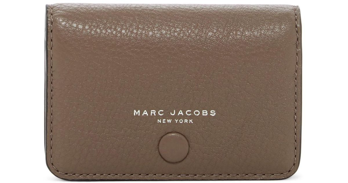 Lyst - Marc Jacobs Empire City Business Leather Cad Case