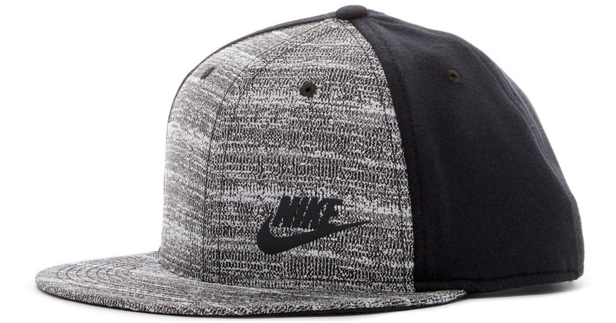 ad9f8423306 ... coupon code for lyst nike tech pack true snapback cap in black for men  099ab 0bbfe